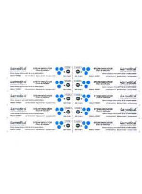 |اندیکاتور شیمیایی کلاس 4 اتوکلاو بخار 4a medical بسته ی 250 تایی