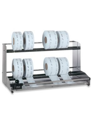 |نگهدارنده و دستگاه برش رول بسته بندی استریل دو طبقه Hawo
