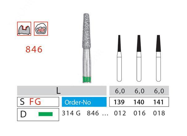فرز الماسی توربین مدل مخروطی ته صاف 5عددی دیاتیز