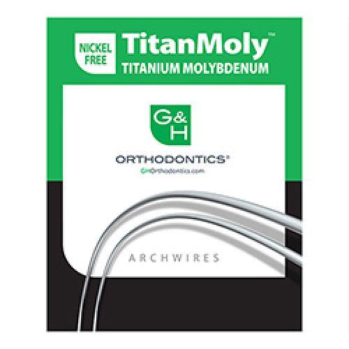 |آرچ وایر TitanMoly برند G&H Orthodontics