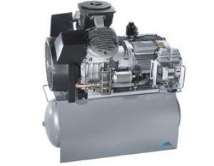 |کمپرسور اویل فری با یک موتور چهار سیلندر مدل P3000 برند DURR DENTAL