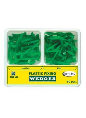|وج پلاستیکی دوسایز 80 عددی سبز TOR VM