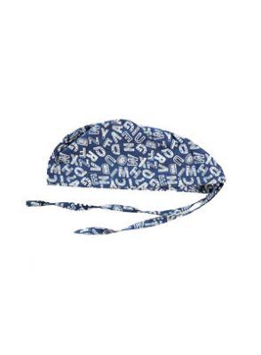 |کلاه طرح حروف سفید برند شایگان