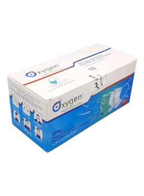 |ماسک استریل سه لایه پزشکی سبز رنگ 50 عددی برند اکسیژن