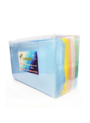 |پیشبند یکبار مصرف تاشده جعبه ای 500 گرمی 20 جعبه 100 عددی برند زلال طب شیمی