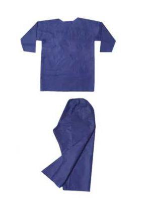 |ست پیراهن شلوار مردانه غیراستریل 10 عددی برند بهسا مداوا طب ایرانیان