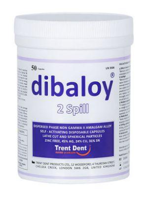 کپسول آمالگام دیبالوی DIBALOY برند TRENT DENT ترینت دنت 50 عددی