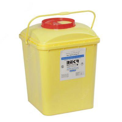 |سیفتی باکس شیمیایی ۵ لیتری درب با قفل قهوه ای برند بکر کارتن 60 تایی